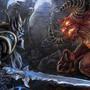 Arthas vs Diablo by aNroll