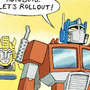 Autobots, Roll Out! by ToonHole