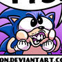 Getting a 1up in Sonic CD by ronnieraccoon