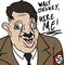 Adolf Hitler and faces