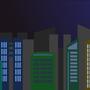 Night Cityscape by jsabbott