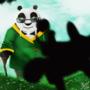 Master Po with Shifu's Son