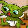 Baby Yoda and darth sidious