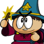 Cartman the Wizard King by ForeveraToon