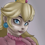 Princess Peach by omacron6