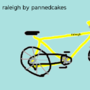 raleigh by PannedCakes