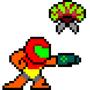 Megaman Style Samus by Volgaria