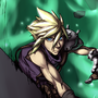 Cloud Strife by TopSpinThefuzzy