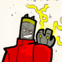 BadBatteryMan in color