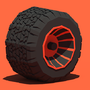 Low Poly Tire by devilsgarage