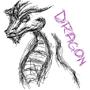 Dragon Sketch by ZzCookieMonsterzZ