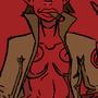 HellGirl Doodle by AnthonyDavila