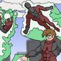 super villain team Doodle by AnthonyDavila