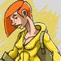 Girl Doodle 3 by AnthonyDavila