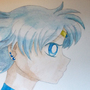 Sailor Mercury by Rose25xx