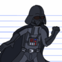 Darth Vader Animated - Sketch to Final