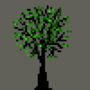 Tree Pixel Art by ArithmeticLogicUnit