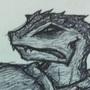 Lizard Scribe