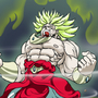 Broly's power is maximum by sketchsumo