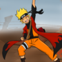 Sage mode Naruto - Giant Rasengan by DeeSeeDraws