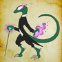Lizard Wizard by pajakinthebox