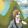 Adventure Lady (ArtTrade) by Coolkitten13