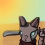 Cat by rilyrobo