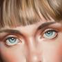 Blue eyes by Demp