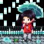 Rain by DrawnMario