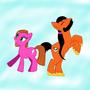 Bruugar and Lia Pony-schmupidoo by Derpynator