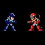 Mega Man and Proto Man (X Version) by EckitronK176