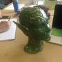 Green space elf head by zanaelf
