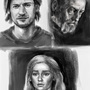 Portrait Study (Game of Thrones) by AlexDinulescu