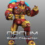 Orcum Robot Character Modeling by GameYan