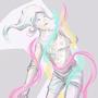 Ray Lights Girl by SaraVinhal