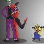 Joker's Minions by dragonofthewest