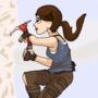 Lara Croft Frame by Frame Animation