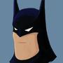 Batman big chin sketch by GGTFIM