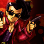 Power Plaid: Duke Nukem Zero Hour Title Card by Motament