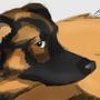 Cookie, my dog by Adastumae