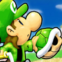 Power Plaid - Mario Kart Double Dash!! Title Card by Motament