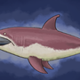 terraria mega shark painting by coolkranx