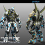 Robot Game Character Modeling by GameYan