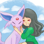Espeon love by Bbycheese