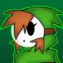 Shy Girl/Gal Green Hoodie by Plazmix