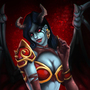 Queen of Pain - Dota 2 by Pheature