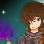 Shiro as Dark Flame Master by Akari19