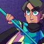Chroma Black - Lai's Weapon by ArtistGamerGal