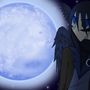 The Moon Raven by Sakurawind