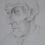 Old Man Portrait by IDuDe